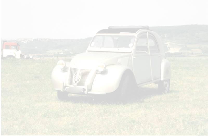 citroen 2cv 1951